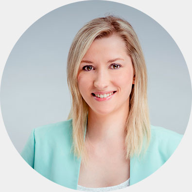 Portraitbild der Studentin Katleen Grumbt