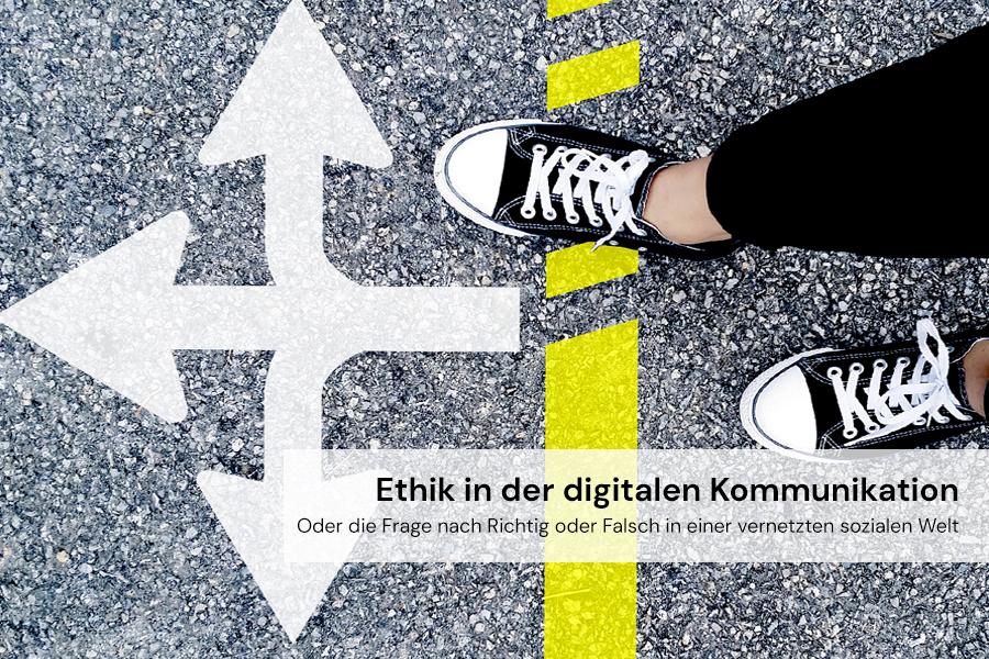 Teaserbild Webinar Ethik in der digitalen Kommunikation